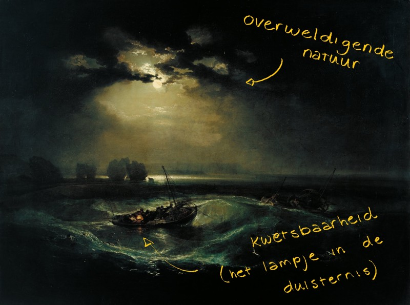 1796 - Fishermen at sea