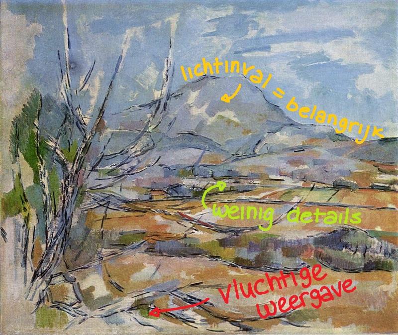 1885-1887 - Paul Cézanne, Mont Sainte-Victoire