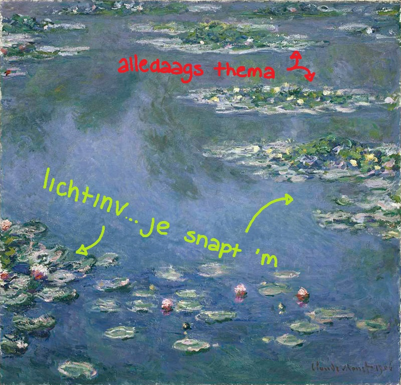 1906 - Claude Monet, Waterlelies